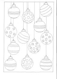 Small Picture Color Your Own Christmas Ornaments Printable Coloring Pages