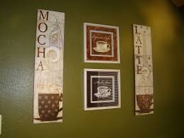 accessories charming coffee themed kitchen ideas visi build theme wall decor house also cafe