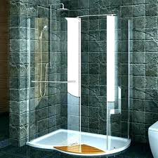 walk in shower kits with seat stall for mobile homes s