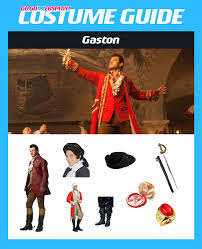 diy gaston costume for cosplay and