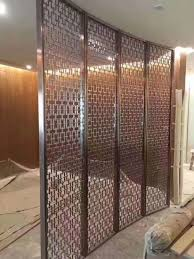 decoration material stainless steel wall panels metal screen for restaurant partitions