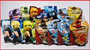 LLOYD vs KAI LEGO Ninjago Spinjitzu Slam Battle & Spinner Sets Review 70681  70674 by SpitBrix