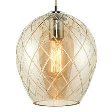 Darcy Pendant Light Pagazzi Darcy 1 Light Ceiling Light Polished Chrome Glass