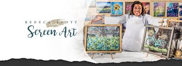 rebeca flott screen art exclusive to painting with a twist