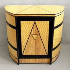 art moderne furniture. Curved-cabinet With The Art Deco Design. Just Beautiful Moderne Furniture