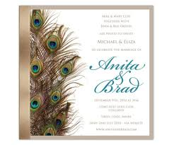 peacock invitations peacock wedding invitations invitations hub