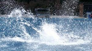 pool water splash. Pool Water Splash I