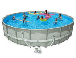 intex above ground swimming pool. Intex Above Ground Swimming Pool T