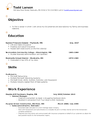 Example Resume  Retail Objective For Resume  Work Experience and