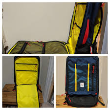 Topo Designs Travel Bag 30l Review Topo Designs Travel Bag Thoughts On The Redesigned Bag Onebag