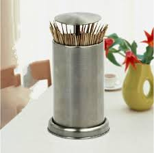2018 Stainless Steel Toothpick Box Fashion Portable Automatic Toothpick  Holders Home Furnishing European Hotel Home Holders From Shutie, $20.73    DHgate.Com