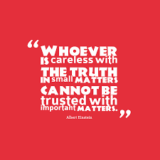 Albert Einstein Quote About Trust