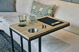 sofa table ikea. Stainless Steel Slide Under Sofa Table Alumunium Reclaimed Hardwoodens Coffee Espresso Deck Handphone Cushions Comfortable Ikea