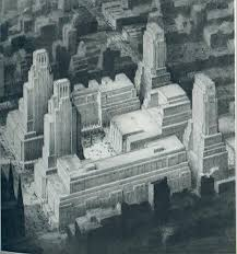architecture blueprints skyscraper. Wonderful Blueprints Architecture Drawings  Joesph Urban Submitted This Design In 1927 To A  Competition For New Metropolitan Opera House For Blueprints Skyscraper
