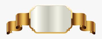 Gold Label Template Transparent Png Clip Art Image Golden
