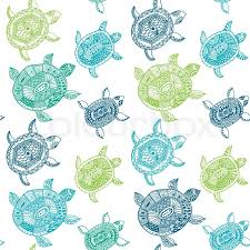 Turtle Pattern Inspiration Seamless Pattern With Turtles Seamless Pattern Can Be Used For