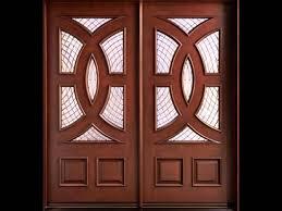 awesome wood door with glass latest design solid wooden kunjungi laman lihat gambar insert panel philippine