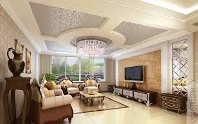 classic ceiling decor for living room interior ideas