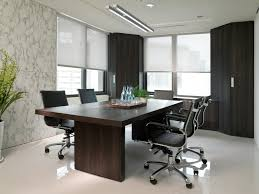 elegant office conference room design wooden. wonderful black brown wood glass modern design top interior firms home office rectangular table swivel chairs elegant conference room wooden e