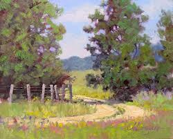 landscape impressionist art paintings landscape oil painting by texas modern impressionist jimmy