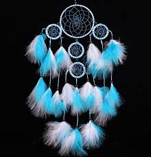 Beautiful Dream Catcher Images Beautiful Dream Catcher hand woven Dreamcatcher with blue White 39
