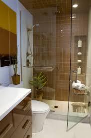 Bathroom:Fancy White Purple Theme Small Bathroom With Nice Cornered Shower  Area Cool Nice Small