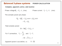 3 phase cur calculation balanced 3 phase systems