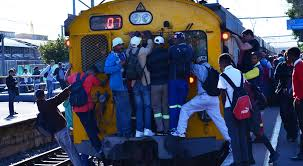 Image result for prasa trains burning SOUTH AFRICA
