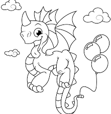 Dragon Colouring Pages Ball Coloring Pdf For Adults Free Printable