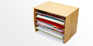 cube literature sorter a4 doent organiser