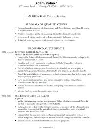 College Student Resume Examples Magnificent Objective For College Resume Sample High School Resume College