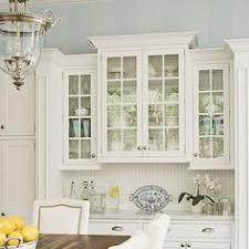 Great Elegant Kitchen. Glass Kitchen Cabinet DoorsWhite ... Nice Look