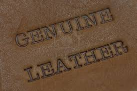 how to tell the difference between faux leather and real leather