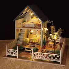 cuteroom 1 24diy handcraft miniature activated led light code 8dollhos diy dollhouseminiature dollhouselight