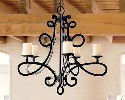 chandelier wrought iron chandeliers rustic rustic wood chandelier pattern black iron with 5 neon glass