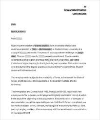 Appointment Letter Format Doc Sample Fresh Appointment Letter For
