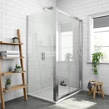 newark 1200 x 800mm sliding door shower enclosure