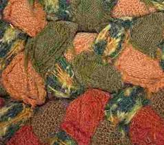 vintage braided rugs close up braided rug fraying detail via atticmag