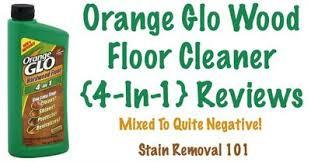 orange glo hardwood floor review