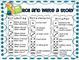 best roll a story ideas english school holidays  great idea to customize for grade level i always love creative writing ideas that make