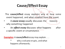 Cause And Effect Essay Samples Custom Essay Writing Services And Help Get Essay Done