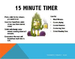 Start 15 Minute Timer Free 15 Minute Timer This Powerpoint Is For Any Classroom