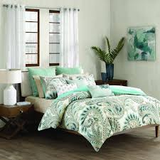 ink ivy mira duvet cover king size teal paisley duvet cover set 3 piece 100 cotton light weight bed comforter covers souq uae