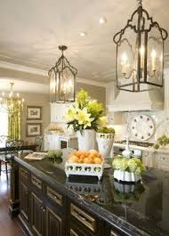 Contemporary kitchen lighting fixtures Stylish Light Black Cabinets French Country Lighting French Country Kitchen Decor Modern French Kitchen French Pinterest 259 Best Kitchen Lighting Images In 2019 Kitchens Modern Kitchens
