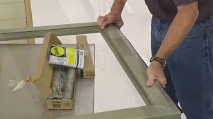 How To Install Pella Clad Frame Storm Door - YouTube