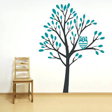 white tree wall decal with shelves home design white family tree wall decal  lighting cabinetry home