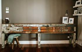 C Vintage Industrial Workbench By Recycled Lane Melbourne