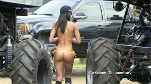 Naked girls andconstruction vehicles