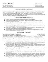 Personnel Recruiter Sample Resume Staffing Specialist Job Description Template Resume Recruiter 4