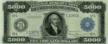 discontinued uncommon u s currency bills